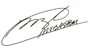 Handtekening Marco van Basten