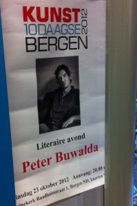 Peter Buwalda in Bergen